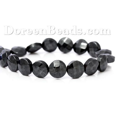 Worldwide Free Shipping (Synthetic) Hematite Beads Round Gunmetal Faceted About 8.0mm( 3/8) Dia, Hole: Approx 0.8mm, 41.0cm(16 1/8) long, 1 Strand (Approx 50 PCs/Strand) [B64156] at incredible low price– DoreenBeads.com