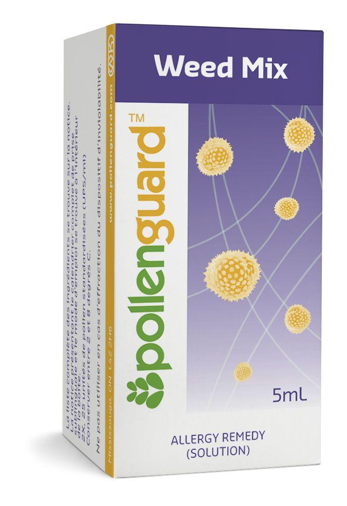 Weed Pollen Allergy Drops