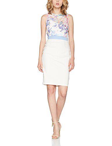 86bc94ccef916b Little Mistress Damen Kleid Skirt Multicoloured (Print) 36