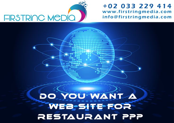 DO YOU WANT A WEB SITE FOR RESTAURANT  contact : +02 033 229 141 visit us : www.firstringmedia.com info@firstringmedia.com 25-06-2016 (123)