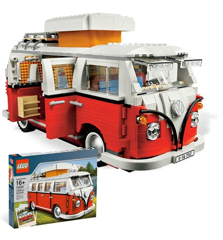 Lego Volkswagen Camper Van.  if someone is looking for a birthday present for me......