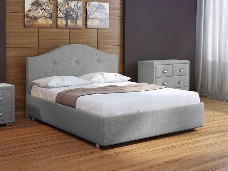 Ненавязчивая роскошь, натуральные материалы, природные оттенки - комфорт с ощущением тепла и уюта. Элегантный светло-серый мебельный гарнитур в классическом стиле станет прекрасным дополнением вашей спальни.  На фото – кровать Veda 7, прикроватная тумба и комод Orma Soft 2, обивка выполнена из мебельной ткани Глазго серого цвета. https://ormatek.com/catalog/bed/myagkie-krovati/