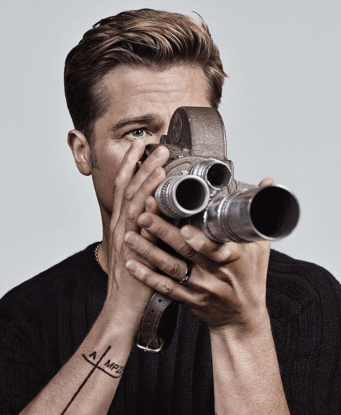 Brad Pitt by Craig McDean | 7 Sep 2016                                                                                                                                                                                 More
