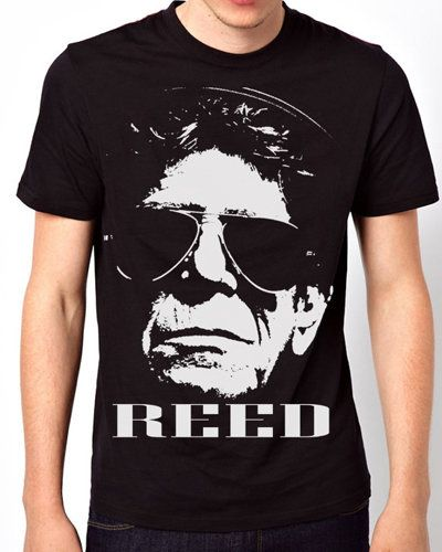iOffer: Lou Reed inspired Black T-Shirt for sale on Wanelo