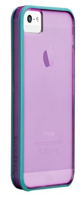 Really pretty iPhone 5 case with a clear back to help show off the really pretty iPhone 5.