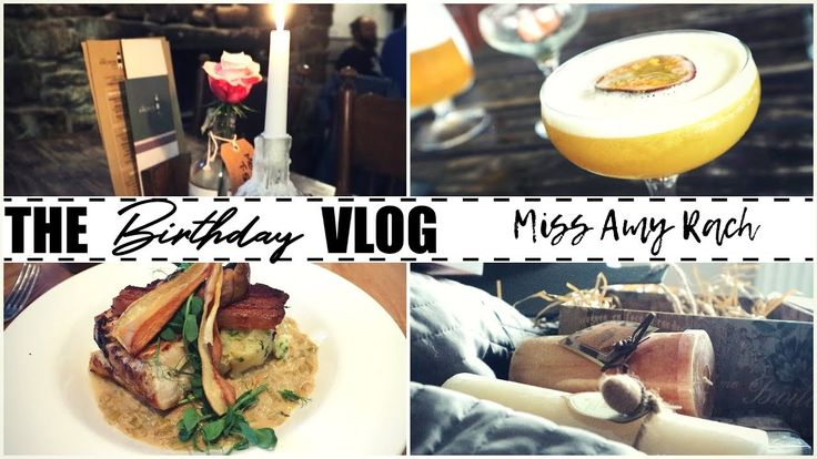 The Birthday Vlog | Miss Amy Rach