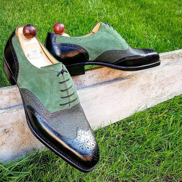 Ascot Shoes — Green is such a difficult colour to capture, even...