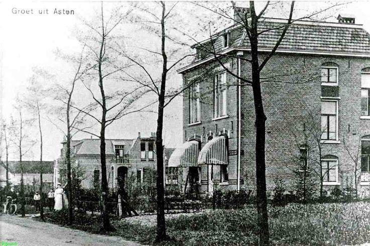 0210109 Coll. Chr. Warnar: Torenstraat;  Huis van Rudolf van Weij die samen met Dhr Rijsdijk die IJzergieterij is begonnen. Op achtergrond Villa Notaris Hockers.