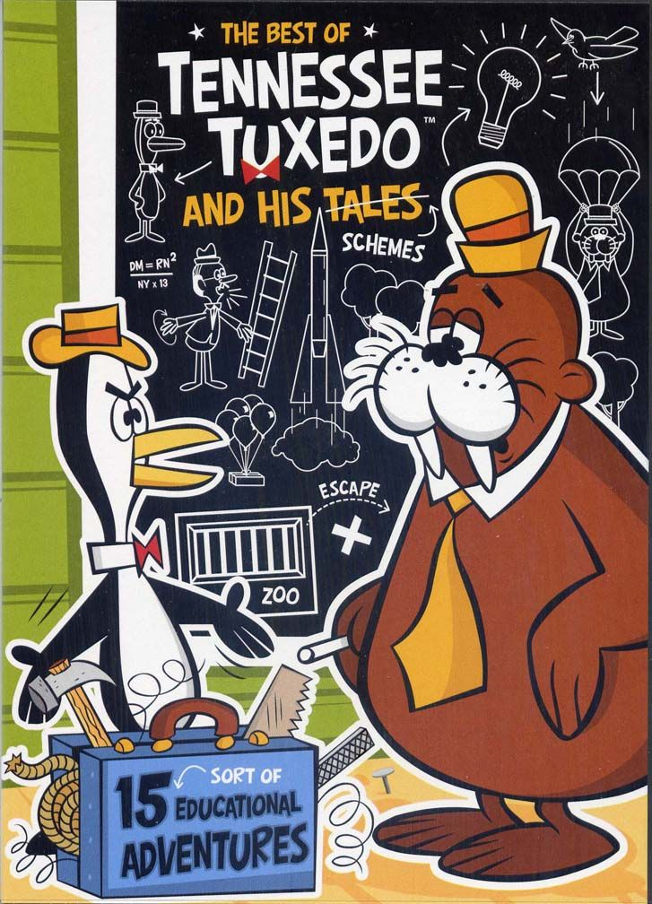 Tennessee Tuxedo and His Tales (TV Series 1963–1966)....Trivia: Don Adams gave the voice for Tennessee Tuxedo, and later for Inspector Gadget.