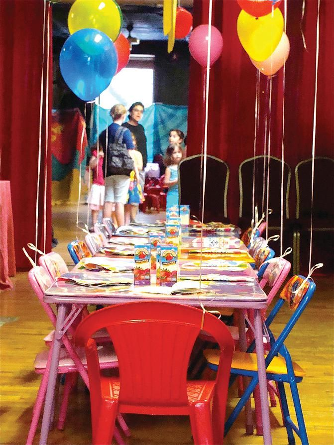 Galli Theater Midtown New York Kids Birthday Party Venues - Children's birthday venues nyc