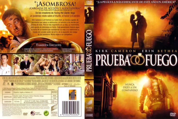 Caratula Caratula De Prueba De Fuego Fireproof Kirk Cameron Facing The Giants Matrimonio A Prueba
