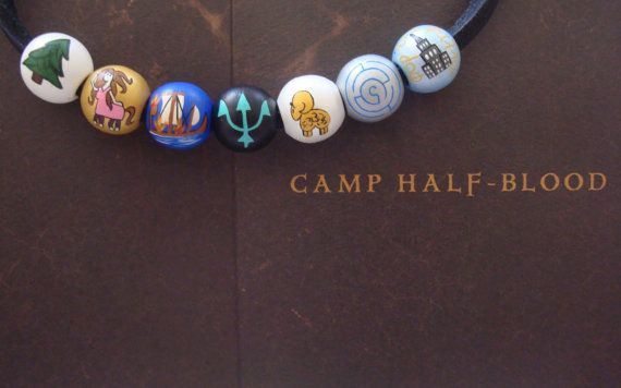 Make beads for teens to collect after having completed a task, just like at Scout Camp.  annabeth necklace, camp half blood necklace.