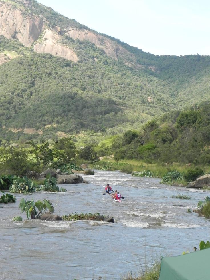 Duzi...canoe marathon, Pietermaritzburg to Durban
