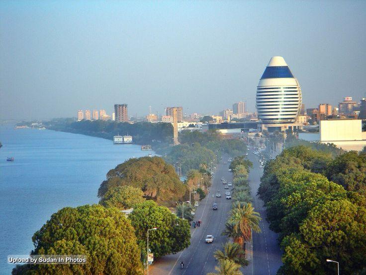Nile Street, Khartoum شارع النيل، الخرطوم (By Khalaf) # ...