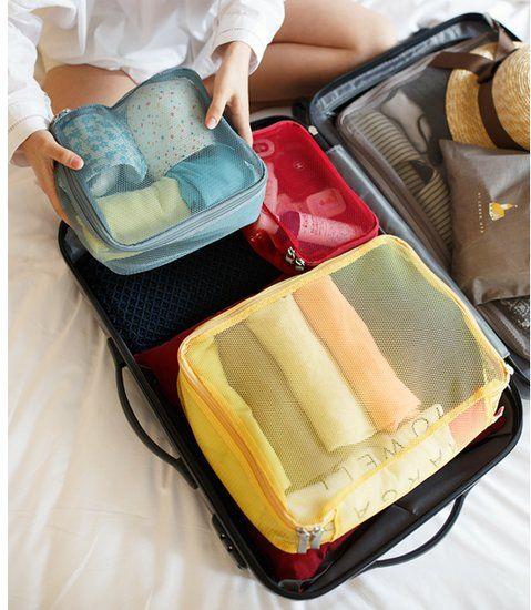 Large Luggage Mesh Bag