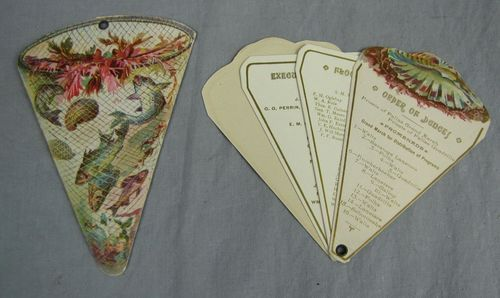 Dance cards!  I had NO idea there were so many different kinds!  And those fan ones are such a great idea!