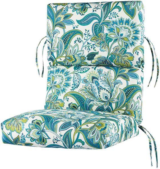 Bullnose High-Back Outdoor Chair Cushion  sale $50
