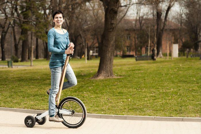 Halfbike: metade triciclo, metade bicicleta