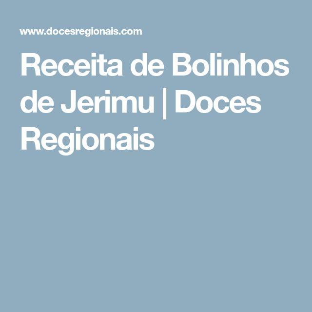 Receita de Bolinhos de Jerimu | Doces Regionais