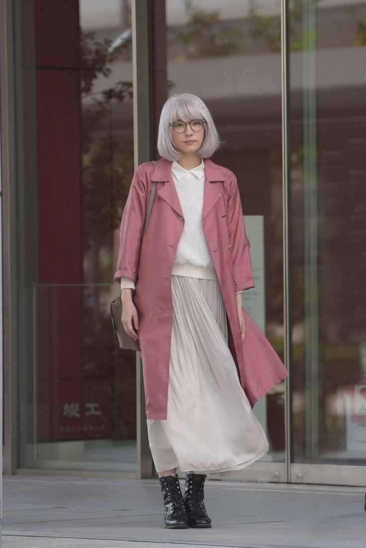 「「掟上今日子の備忘録」第1話  Brand: 45R(フォーティーファイブ・アール レーヨンサテンスカート Rayon Satin Skirt