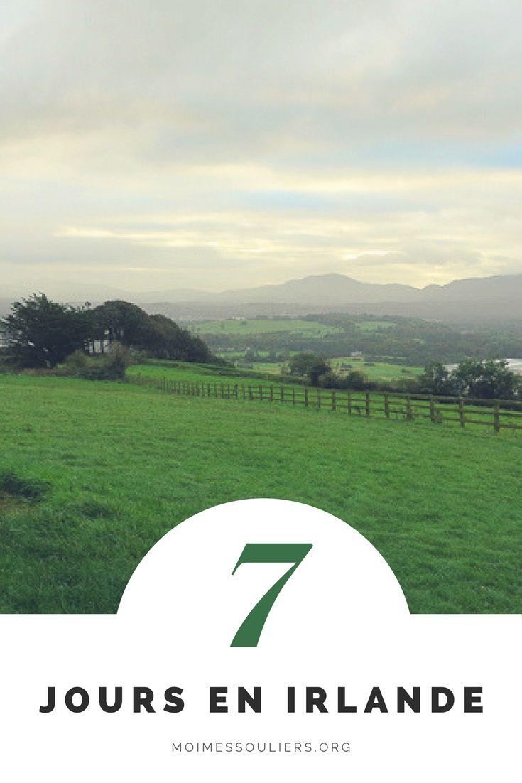 Une contrée verte, de grandes étendues, des moutons dans les pâturages, des gens tellement sympathiques et de la bière qui coule à flots. Une simpliste façon de décrire l'Irlande, certes, mais elle est difficile à décrire, cette terre verdoyante, parce qu'elle est si particulière, si mystérieuse, si pleine de surprises. #Irlande #Voyage #Guide #Information #Photo #Château #Itinéraire #Paysage #Terre