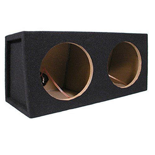 Car Black Subwoofer Box Sealed Automotive Enclosure for Two 8-Inch Woofers 8D - http://www.caraccessoriesonlinemarket.com/car-black-subwoofer-box-sealed-automotive-enclosure-for-two-8-inch-woofers-8d/  #8Inch, #Automotive, #Black, #Enclosure, #Sealed, #Subwoofer, #Woofers #Car-Subwoofers, #Electronics