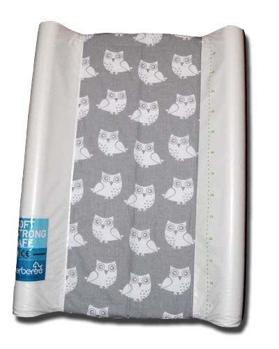 pokrowiec bawełniany uniwersalnyz gumką na przewijak - Sowa/changing mat cover