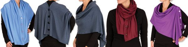 How to sew a knit wrap perfect for any season | Nancy Zieman Blog