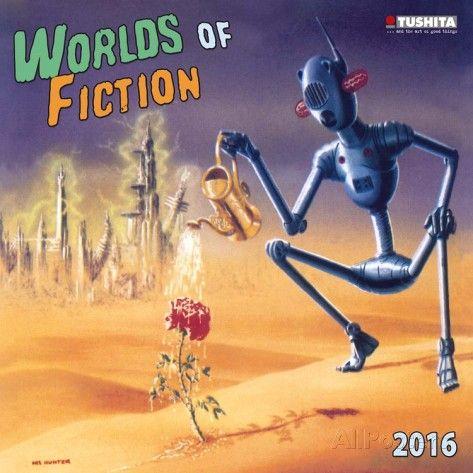 Worlds of Fiction - 2016 Calendar Calendars at AllPosters.com