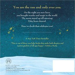 Book On the Night You Were Born by Nancy Tillman