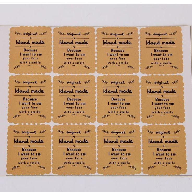 Купить товарНовый! Оптовая продажа 100 шт./лот марки 2.8 * 2.3 см крафт печать, 'Handmade Sticker' спасибо бумага ручной работы etiquetas в категории Партия Выступаетна AliExpress.     Начать                   Новый!  Оптовая 100 шт./лот 50*17 мм Крафт Печать ЦНТИ...       Цена:    $5.76