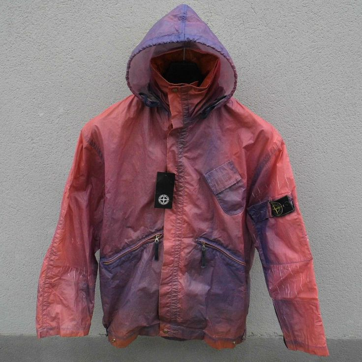 Holy Grail of Stone Island - Ice Jacket 1988 and maestro Massimo Osti in this jacket