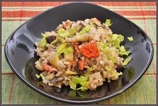 ŐRÜLTEN  JÓ ÉTELEK : Zöldség és rizs avagy Hús nélkül is jó lett