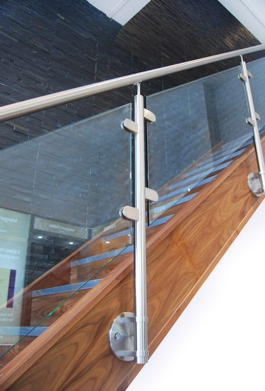 Best Contemporary Brushed Stainless Steel Staircases In 2020 640 x 480