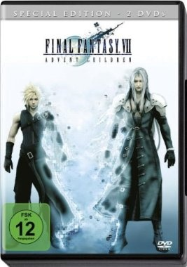 Final Fantasy VII: Advent Children  2005 Japan      IMDB Rating 7,3 (34.937)  Darsteller: Takahiro Sakurai, Ayumi Ito, Shotaro Morikubo, Maaya Sakamoto, Keiji Fujiwara,  Genre: Animation, Action, Sci-Fi,  FSK: 12