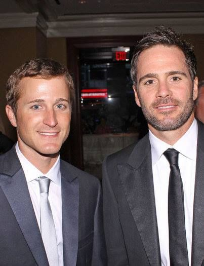 Kasey Kahne Jimmie Johnson..... two very talented NASCAR drivers.