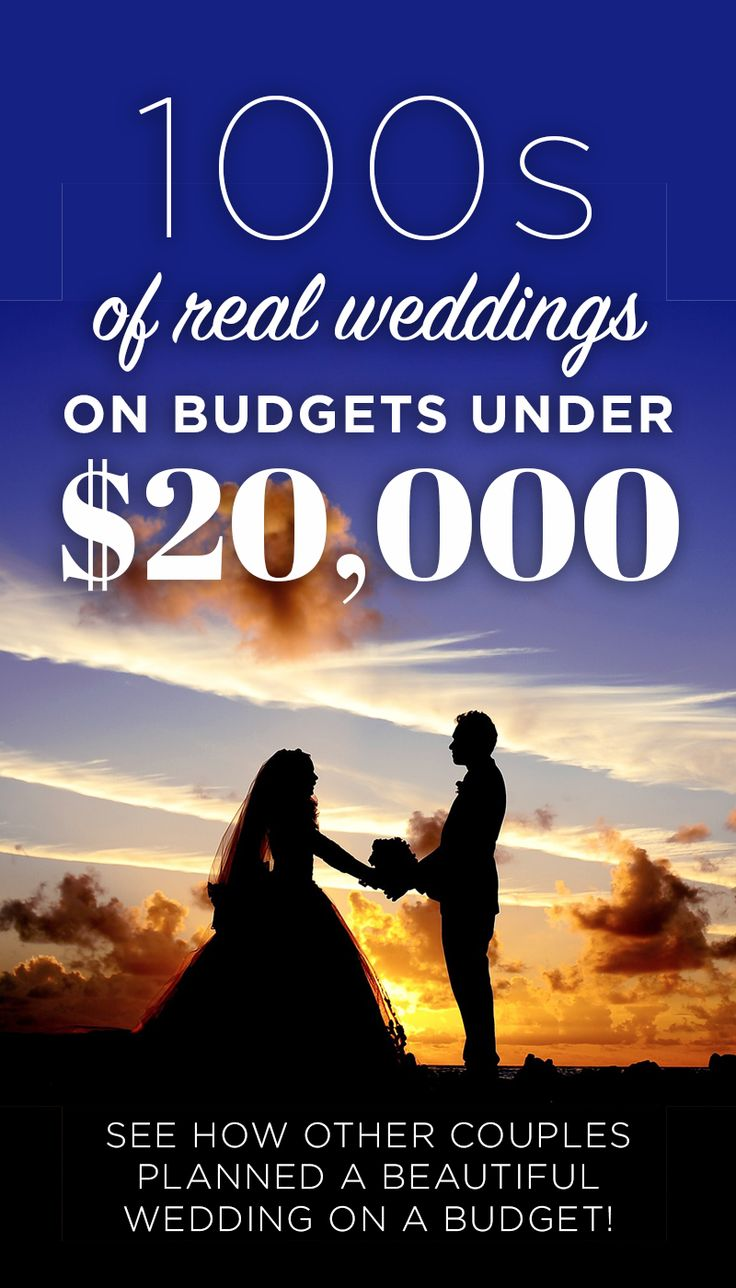 Tons Of Beautiful Weddings On A Budget All Under 20k See