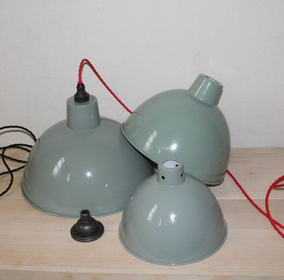 Vintage-style retro factory lights FREE by GoodwoodOriginals
