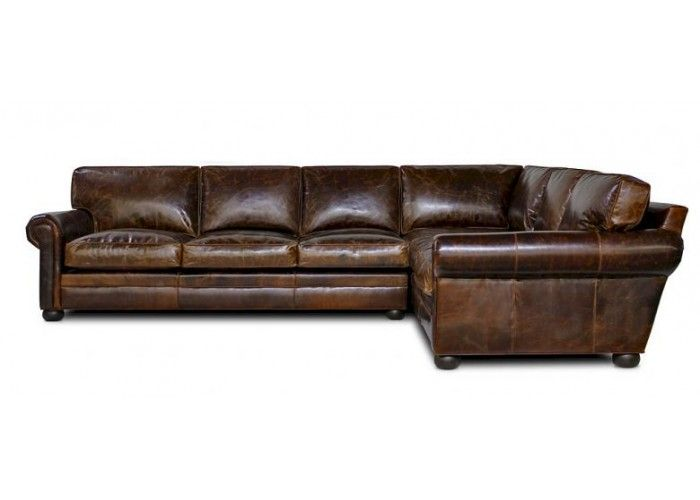 The Sedona (Lancaster) over-sized seating leather sectional is a sectional with  timeless style that is made up of 100% Italian top grain leather over a kiln dried solid hardwood frame.
