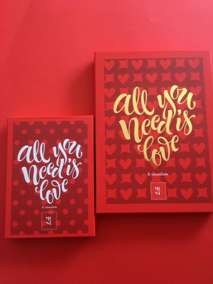 All you need is LOVE & chocolates on Packaging of the World - Creative Package Design Gallery