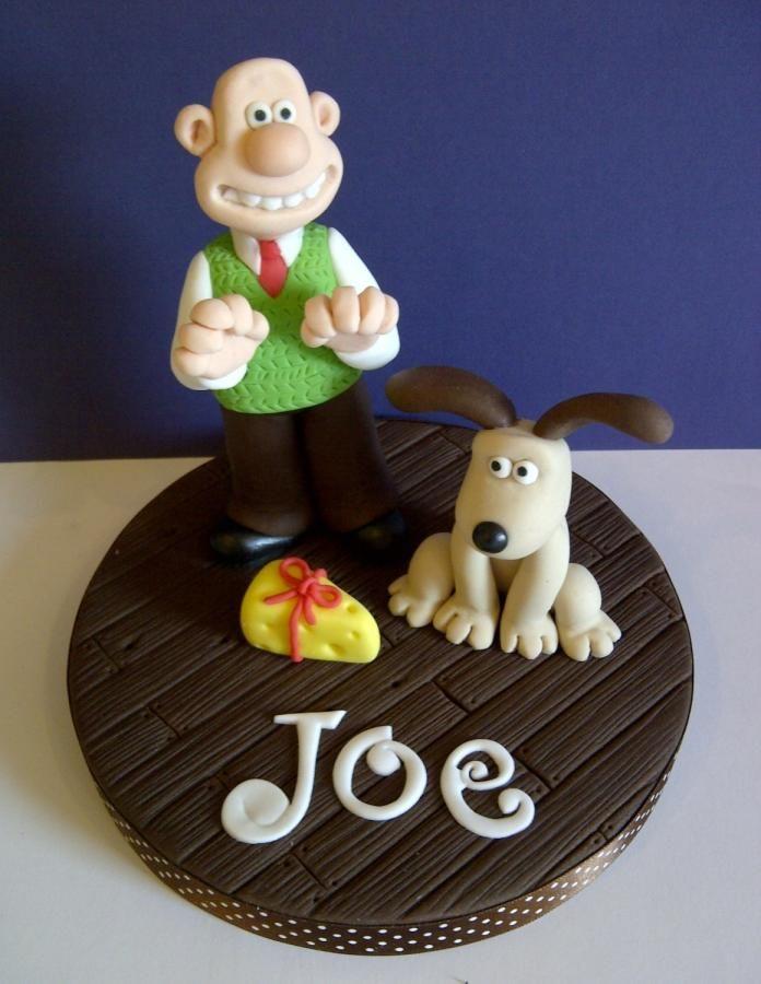 More cheese, Gromit? #Cakeycake http://www.facebook.com/childscakeycake