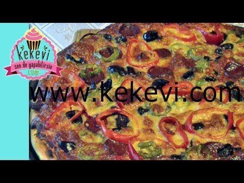 Pizza Nasıl Yapılır? 6 dakikada harika pizza tarifi tum incelikleriyle - Kekevi Yemek Tarifleri - YouTube