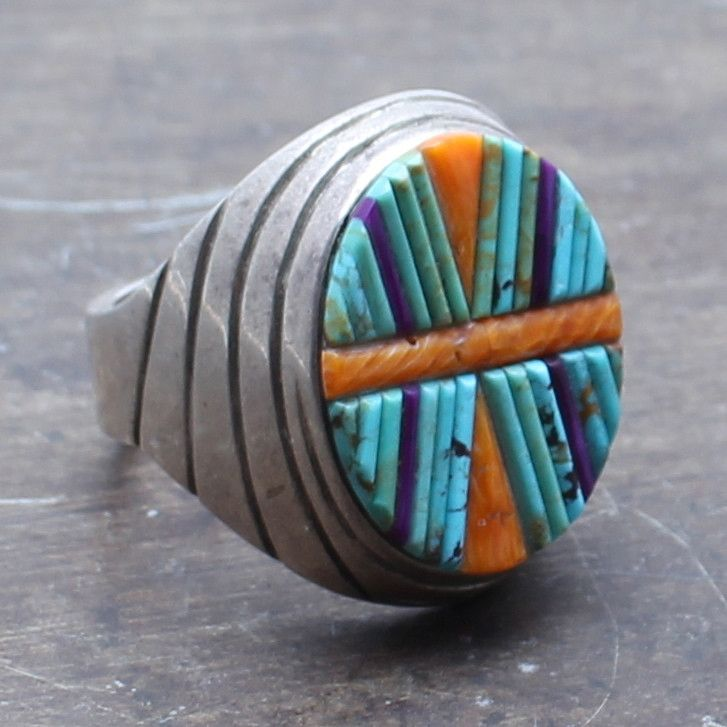 Native American Handcrafted Ring Traditional Native ...