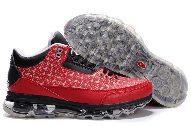 Nike Air Jordan troost jonge 3 Fusion Heren grijs rood zwart crème - www.freeruninnl.com-Nike Air Jordan Fusion Mens 054-30