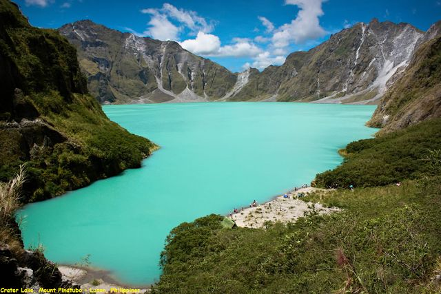 Awesome Videoshp: Crater Lake, Mount Pinatubo – Luzon, Philippines