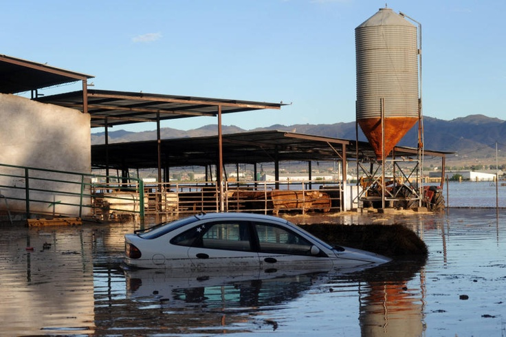 Consecuencias de las lluvias torrenciales en Lorca - LaVerdad.es. Foto 6 de 94