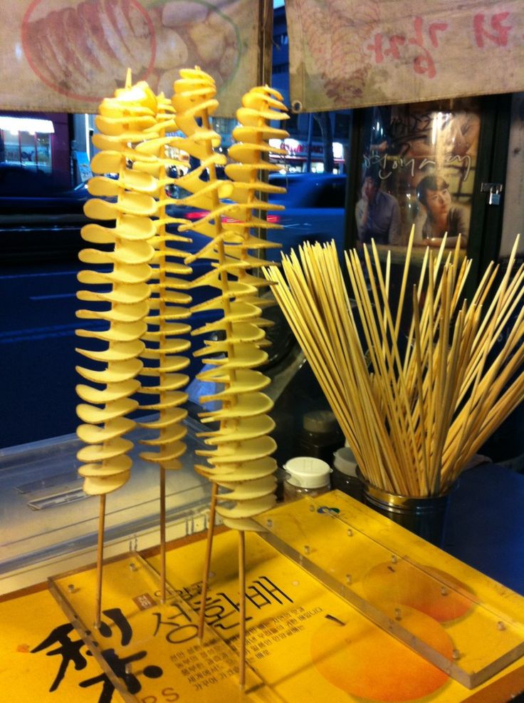 Potato Tornado. Korean street food!