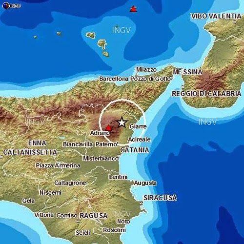 mappa sismica ingv terremoto in sicilia 20 aprile 2015