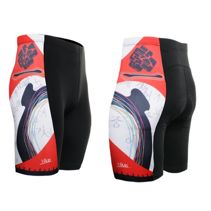 2017 Summer Style Cycling Shorts Breathable Quick Dry Culotte Ciclismo Gel Pads Men High Elasticity Road Bike MTB Shorts
