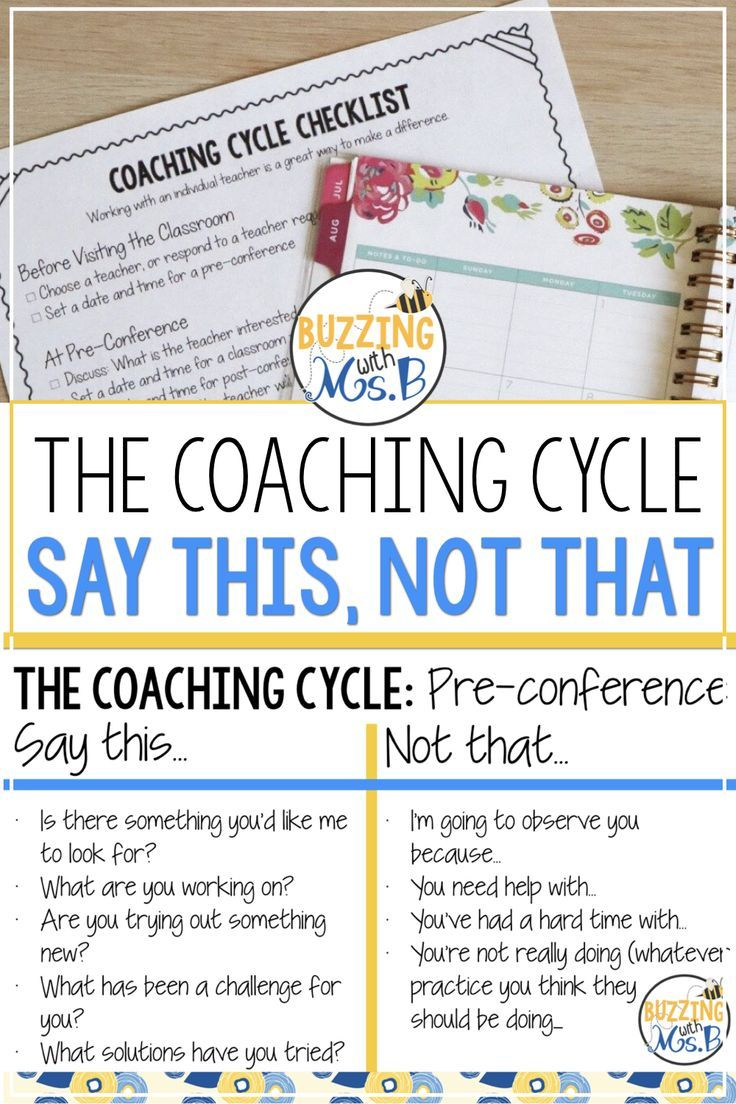 Conducting A Coaching Cycle The Instructional Coaching Series In 2020 Literacy Coaching Learning Coach Math Instructional Coach